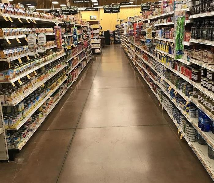 Water damage at local grocery store After