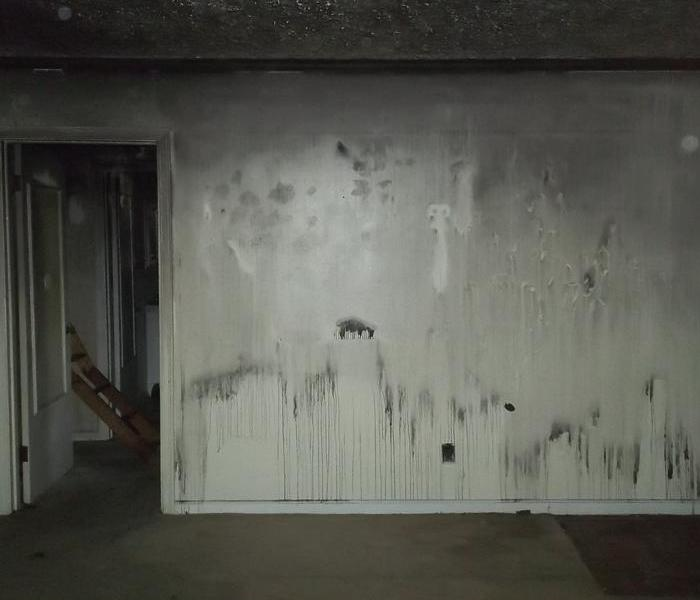 Soot/Smoke damage after a fire in Knoxville, TN